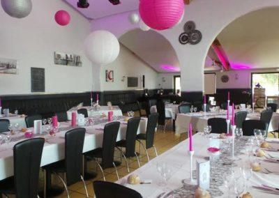 Organisation de mariage a St Vulbas - organisation salle 1