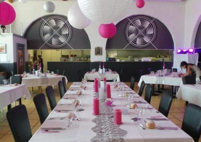 Organisation de mariage a St Vulbas - organisation salle 3