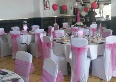 Organisation de mariage a St Vulbas - organisation salle 4
