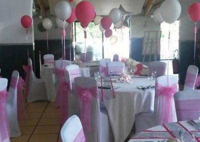 Organisation de mariage a St Vulbas - organisation salle 5