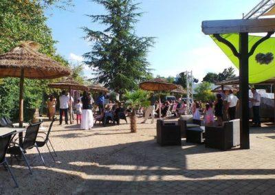 Organisation de mariage a St Vulbas - terrasse festif 1