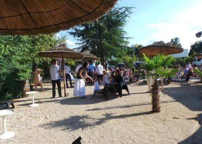 Organisation de mariage a St Vulbas - terrasse festif 2